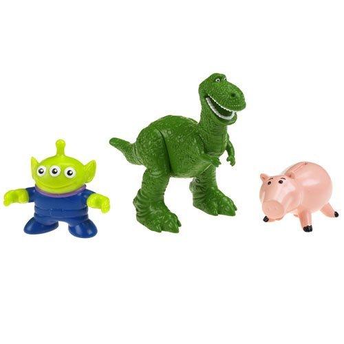 Imaginext Disney ディズニー Pixar ピクサー Toy Story 3 トイストーリー3 Rex with Hamm and Alien フ