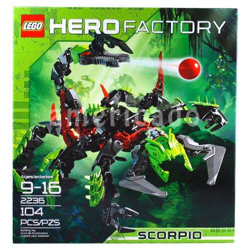 レゴ ヒーローファクトリー 大箱 スコーピオ 2236 Lego Hero Factory Scorpio 2236