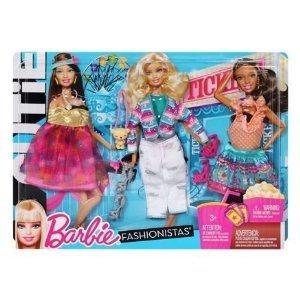 Barbie バービー Fashionistas Cutie Outfits