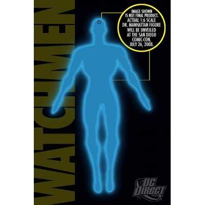 ウォッチメン ムービー Dr.マンハッタン 1/6 スケール デラックスコレクターフィギュア