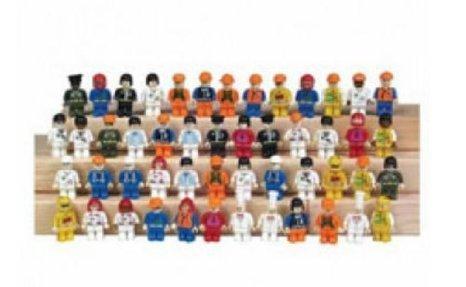 50 People for Interlocking Bricks - Lego (レゴ) compatible ブロック おもちゃ