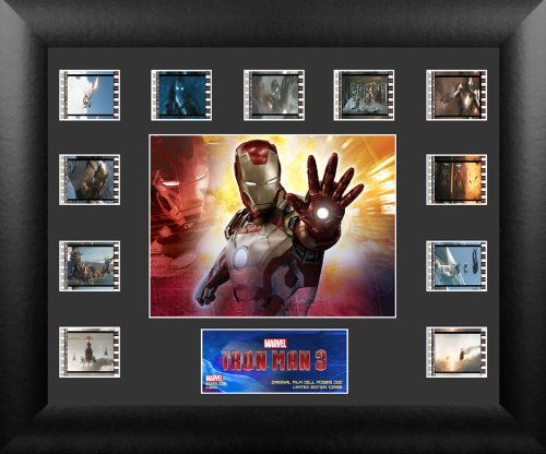 アイアンマン 3 ミニモンタージュ フィルム セル 6018 米国公式純正品