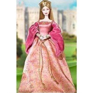 2004年版 Princess of England イギリス女王プリンセス バービーフィギュア人形 1/6
