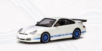 Porsche (ポルシェ) 2004 911 996 GT3 RS White / Blue Stripes (Part: 13078) Autoart (オートアート) 1
