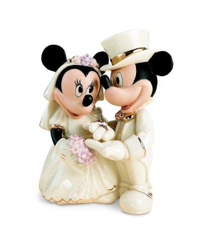 レノックス Lenox ディズニー ミッキーマウス ディズニーフィギュア ミッキー ミニー 結婚式 ウェディン