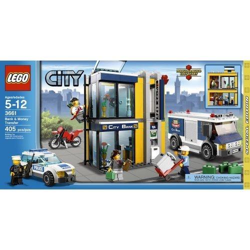 レゴ シティ - 銀行と現金輸送車- 3661 Lego City Police Bank & Money Transfer