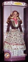 バービー 人形s ザワールド コレクターズエディション Austrian バービー (1998) 131002fnp