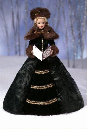 Holiday Caroler Porcelain Barbie バービー Collection 人形 ドール