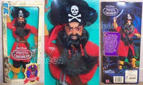 Disney ディズニー Exclusive Pirates of the Caribbean パイレーツオブカリビアン THE PIRATE CAPTAIN D