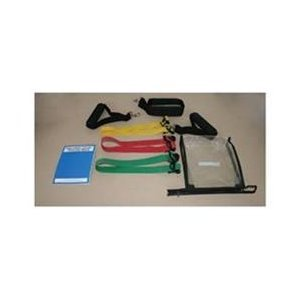 Cando Adjustable Exercise Band Kit - 3 band (red green blue)