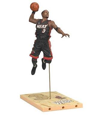マクファーレントイズ NBA シリーズ17 ドウェイン・ウェイド