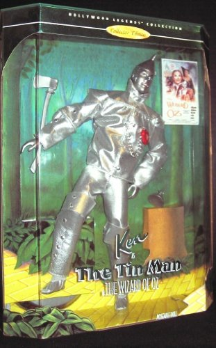 Ken Barbie バービー as the Tin Man, Hollywood Legends, The Wizard of Oz Collectors Edition 人形 ド