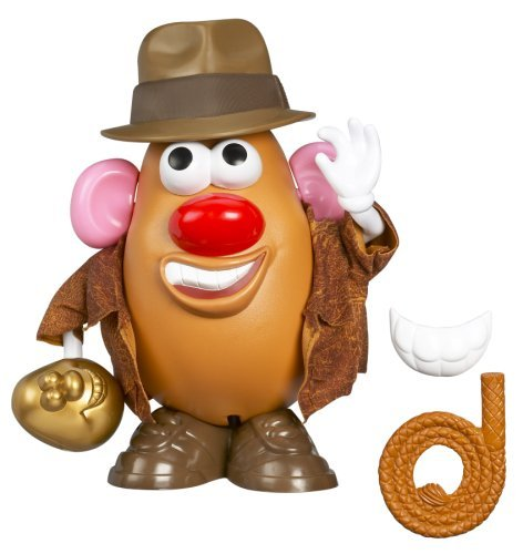 Playskool Mr. Potato Head ミスターポテトヘッド Indiana Jones インディジョーンズ Taters of the Lost