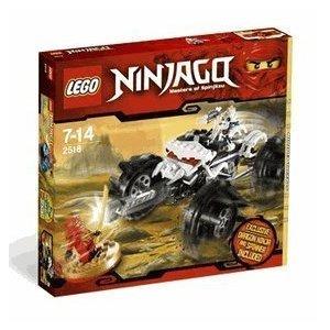 レゴ Ninjago Exclusive Limited Edition セット #2518 Nuckals ATV Includes Kai Ninja ミニ フィギュア