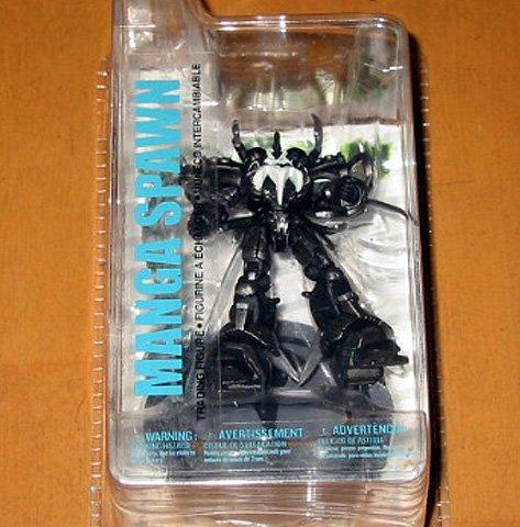 McFarlane Toys Spawn 3 インチ Series 2 フィギュア Manga Spawn ブラック White Variant