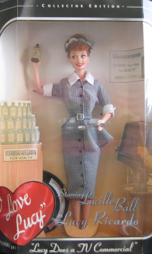1997 - Mattel マテル社 - Barbie バービー - I Love Lucy : Lucy Does a TV Commerical/ Episode 30 - V
