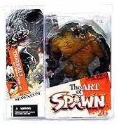 マクファーレントイズ スポーン シリーズ26/TREMOR 3 the Spawn Bible art/SPAWN