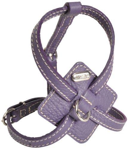 Petego La Cinopelca Adjustable Calfskin Harness Purple Medium
