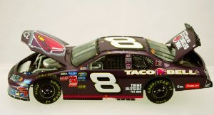 Action - NASCAR - Martin Truex Jr #8 - 2004 Chevy (シボレー) Monte Carlo - Taco Bell / Raced Win V
