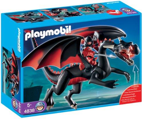 プレイモービル4838 火を噴くブラックドラゴン playmobil