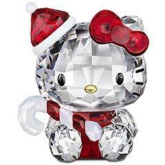スワロフスキー SWAROVSKI クリスタル フィギュア Hello Kitty Santa (ハローキティ サンタ) Hello Kitty