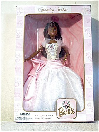 Birthday Wishes Barbie バービー African American 人形 ドール