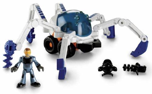 Fisher-Price imaginext Space フィッシャープライス イマジネクスト スパイダービークル/Spider Vehicle