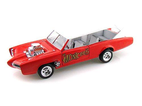 Movie & TV Cars Monkee Mobile 1/18 AWAMM957 ミニカー ダイキャスト 自動車
