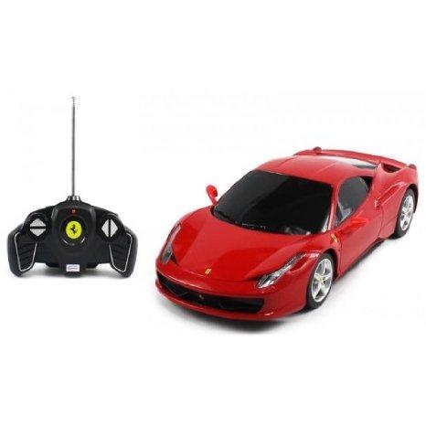 1:18 スケール Ferrari 458 Italia ラジコンカー Official Liciense Model (Color: Red) おもちゃ