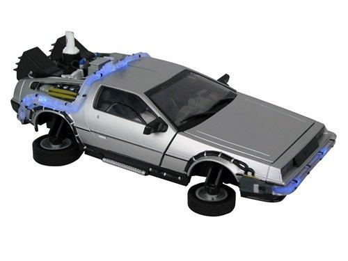 Back to the Future II DeLorean バックトゥザフューチャー2 デロリアン 1/15 スケール