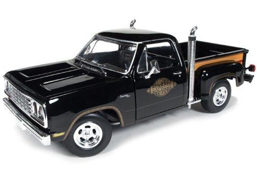 1978 Dodge (ドッジ) Midnite Express ピックアップ トラック 1/18 Black AWAMM1016 ミニカー ダイキャス