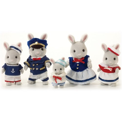 Sylvanian Families Celebration Sea Breeze Rabbit Family 人形 ドール