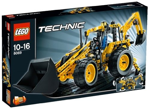 レゴ テクニック バックホーローダー 8069