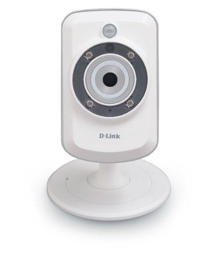 暗がりでも映る DCS-942L ワイヤレスデイ/ナイトネットワーク監視カメラ D-Link社(ホワイト)