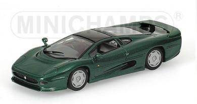 ミニチャンプス 430102224 1/43 ジャガー 1991 MINICHAMPS JAGUAR XJ 220 GREEN METALLIC