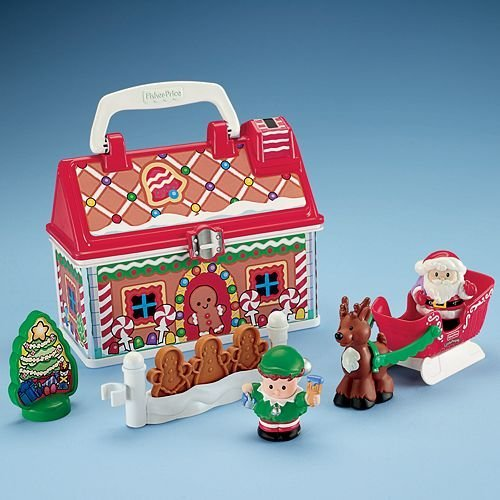 Fisher-Price(フィッシャープライス) スモールクリスマス Little People On-the-Go Christmas Shop