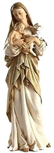 子羊と聖母子(マリア)像/高さ約30cm