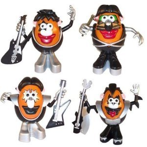 Kiss Mr Potato ヘッド Figure セット Of 4