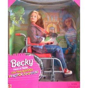 Barbie バービー Becky I'm the School Photographer