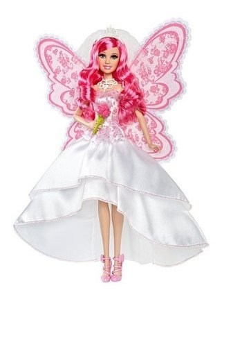 Barbie バービー A Fairy Secret Bride Doll 人形 ドール