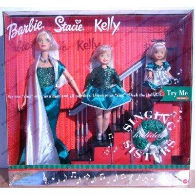 Barbie バービー Singing Holiday Sisters: W Barbie バービーl, Stacie & Kelly Dolls (2000) - Listen