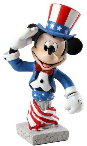 グランドジェスターGrand Jester Studios Patriotic Mickey Figurine