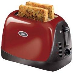 オスター2枚トースターレッドOster 6307 Inspire 2-Slice Toaster, Red