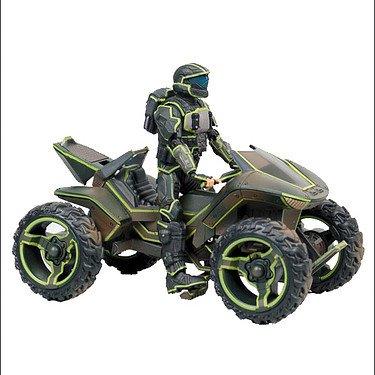 マクファーレン HALO MONGOOSEUltra-light All-terrain Vehiclewith ODST ROOKIE