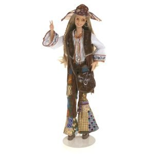 Barbie バービー Peace & Love 70's Collector Doll ドール: Great Fashions of the 20th Century Collec