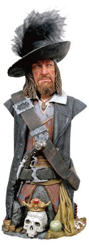 Pirates Of The Caribbean The Curse Of The Black Pearl - Mini Bust: Captain Barbossa