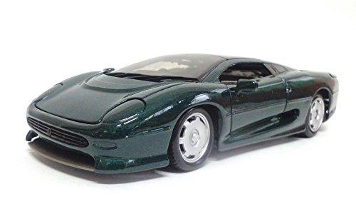 Jaguar ジャガー XJ220 Greenミニカー モデルカー ダイキャスト