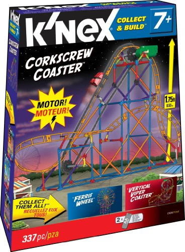 K'NEX Collect & Build Amusement Park Series #2 - Corkscrew Coaster コネックス コレクト&ビルド