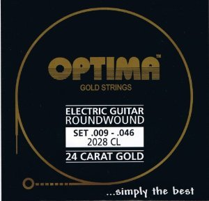 Optima Gold Electric Strings