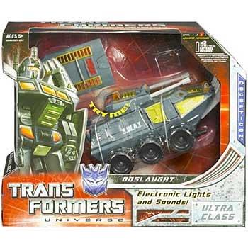 トランスフォーマー ユニバース クラシック オンスロート ウルトラクラスフィギュア TRANSFORMERS UNIVER